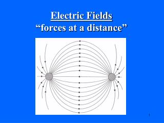 Electric Fields �forces at a distance�