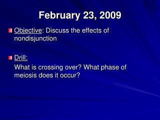 February 23, 2009