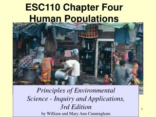 ESC110 Chapter Four  Human Populations