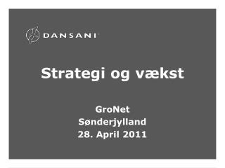 Strategi og vækst