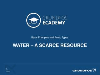 Basic Principles and Pump Types