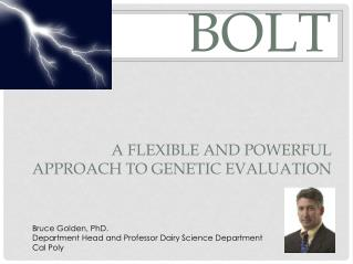 BOLT A flexible and powerful approach to genetic evaluation