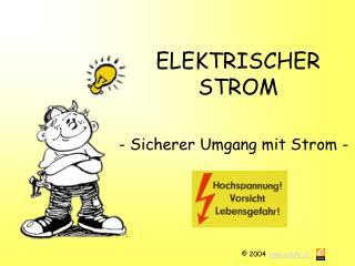 ELEKTRISCHER STROM