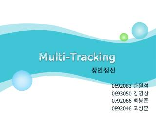 Multi-Tracking