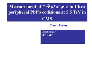 Measurement of     +  -  ,e + e -  in Ultra  peripheral PbPb collisions at 5.5 TeV in CMS