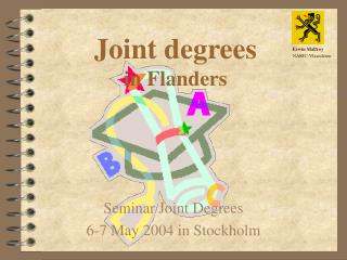 Joint degrees in Flanders