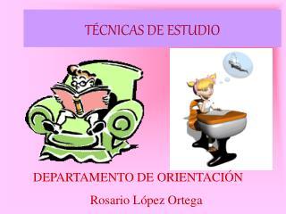 T�CNICAS DE ESTUDIO
