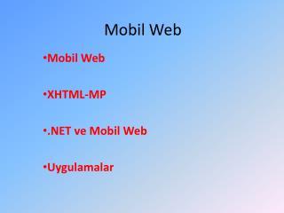 Mobil Web
