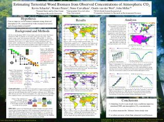 Estimating Terrestrial Wood Biomass from Observed Concentrations of Atmospheric CO 2