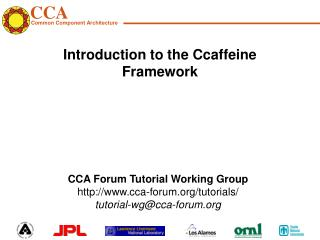 Introduction to the Ccaffeine Framework