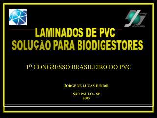 LAMINADOS DE PVC   SOLU  O PARA BIODIGESTORES
