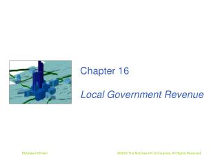 Chapter 16 Local Government Revenue