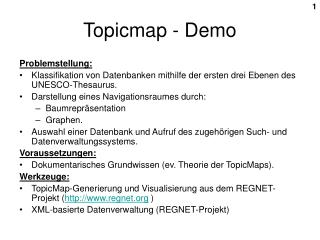 Topicmap - Demo