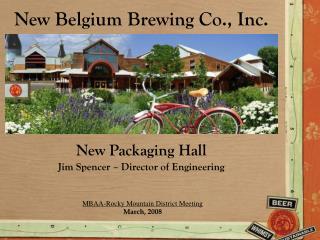 New Belgium Brewing Co., Inc.