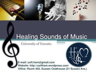 Healing Sounds of Music