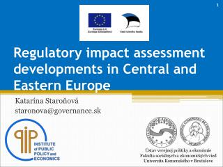 Regulatory impact assessment developments in Central and Eastern Europe