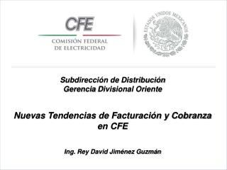 Subdirección de Distribución Gerencia  Divisional Oriente