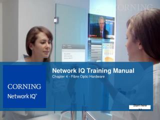Network IQ Training Manual Chapter 4 -  Fibre Optic Hardware