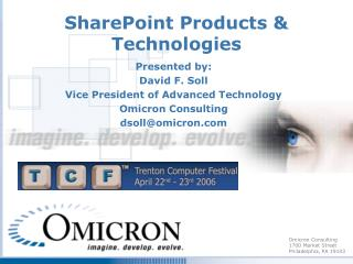 SharePoint Products & Technologies