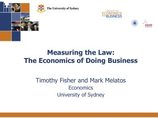 Measuring the Law:  The Economics of Doing Business