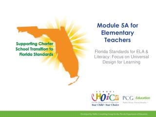 Module 5A for Elementary Teachers