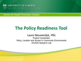 The Policy Readiness Tool