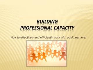 Building Professional  C apacity