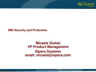 IMS Security and Protection
