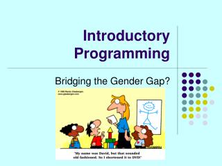 Introductory Programming