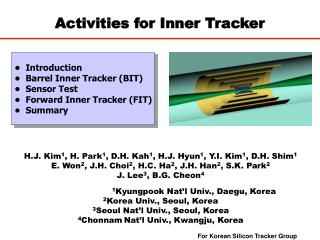 Activities for Inner Tracker