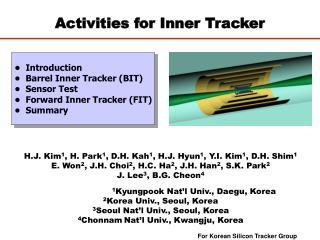 Activities for Inner Tracker