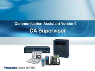 CA Supervisor