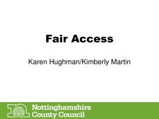 Fair Access