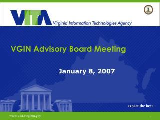 VGIN Advisory Board Meeting