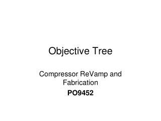 Objective Tree