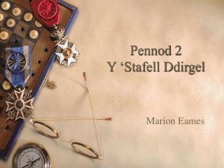 Pennod 2 Y 'Stafell Ddirgel