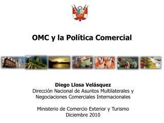 OMC y la Política Comercial