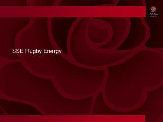 SSE Rugby Energy