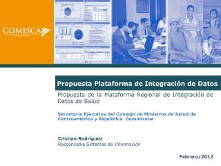Propuesta Plataforma de Integraci�n de Datos