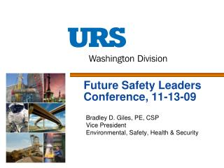 Future Safety Leaders Conference, 11-13-09