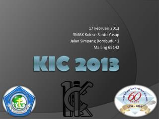 KIC 2013
