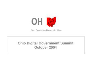 Ohio Digital Government Summit October 2004