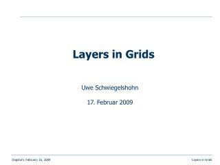 Uwe Schwiegelshohn 17. Februar 2009