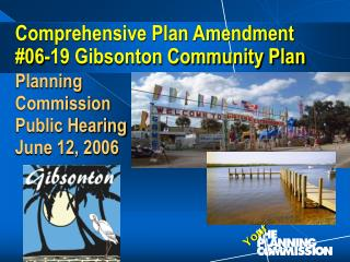 Comprehensive Plan Amendment  #06-19 Gibsonton Community Plan