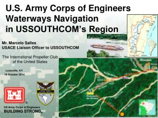 U.S. Army Corps of Engineers Waterways Navigation in USSOUTHCOM's Region