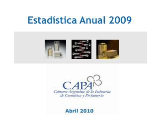 Estadística Anual 2009