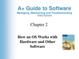 How an OS Works with Hardware and Other Software