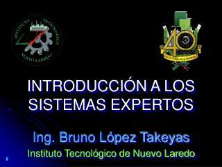 INTRODUCCI N A LOS SISTEMAS EXPERTOS