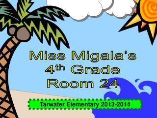 Tarwater Elementary 2013-2014