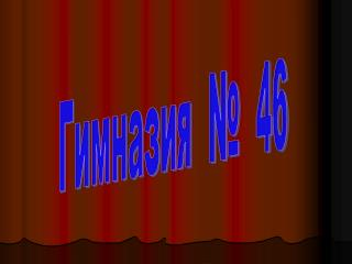 Гимназия  №  46
